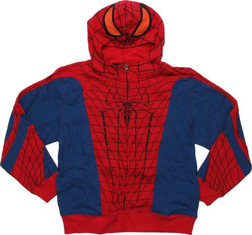 Amazing Spiderman Costume Youth Hoodie