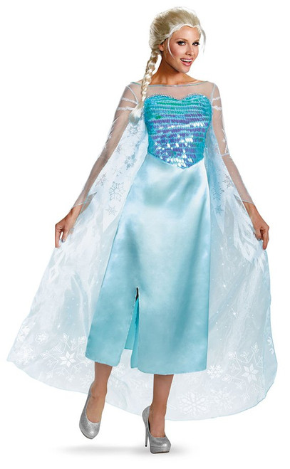 Frozen Elsa Deluxe Adult Costume