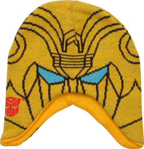 Transformers Bumblebee Head Beanie