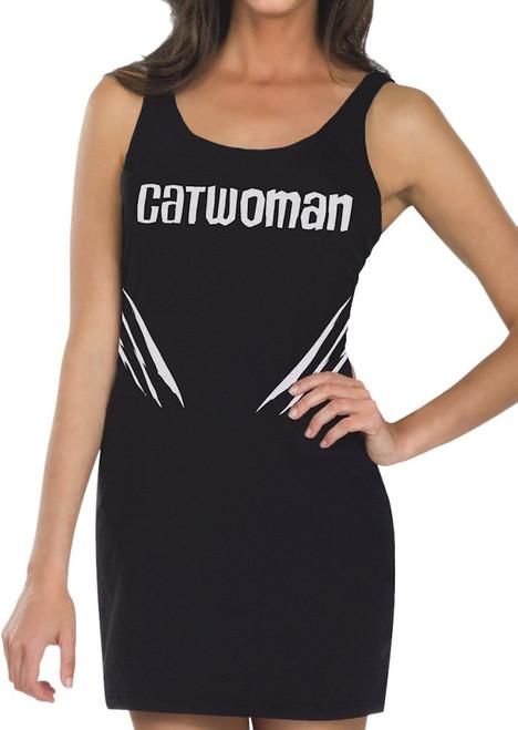 Catwoman Name Tank Top Dress