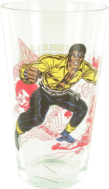Luke Cage Power Man Pint Glass