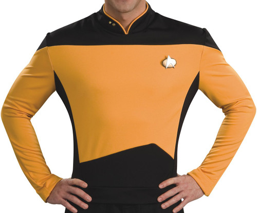 Star Trek Next Generation Operations Deluxe Costume Shirt