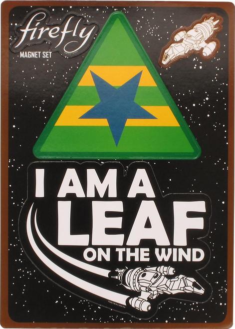 Firefly Browncoat Leaf Magnet Set