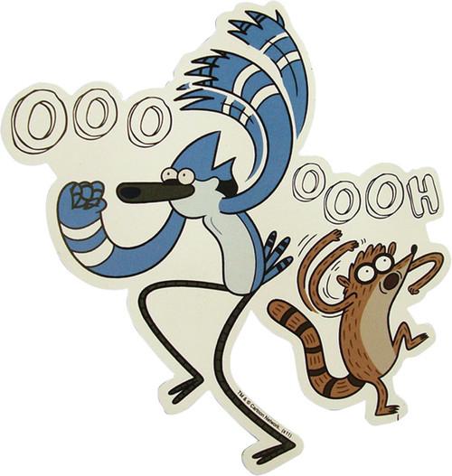 Regular Show Ooooh Duo Magnet