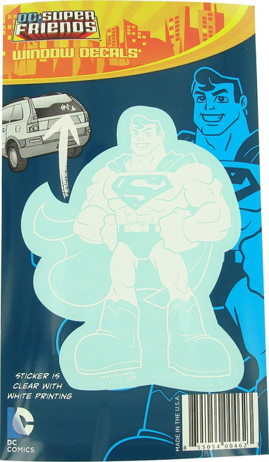 Superman DC Super Friends Vinyl Decal Sticker