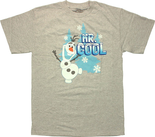 Frozen Olaf Mr Cool T Shirt