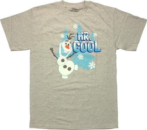 Frozen Olaf Mr Cool T Shirt