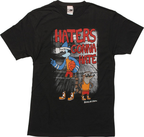 Regular Show Basketball Haters Gonna Hate T Shirt