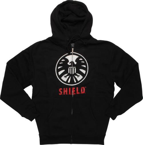 SHIELD Logo Zip Hoodie