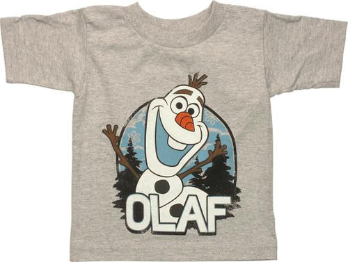 Frozen Olaf Vintage Toddler T Shirt