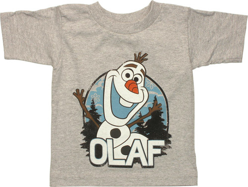Frozen Olaf Vintage Toddler T Shirt