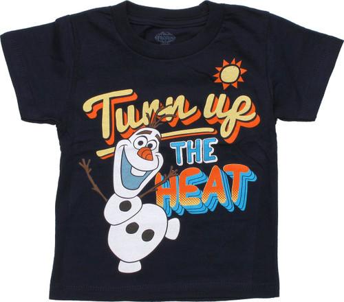 Frozen Olaf Turn Up Heat Toddler T Shirt