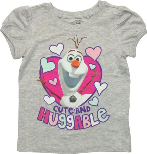 Frozen Olaf Huggable Toddler T Shirt