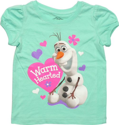 480a9fef Frozen Olaf Warm Hearted Toddler T Shirt toddler-girls-shirt-frozen-olaf- warm-hearted-grn