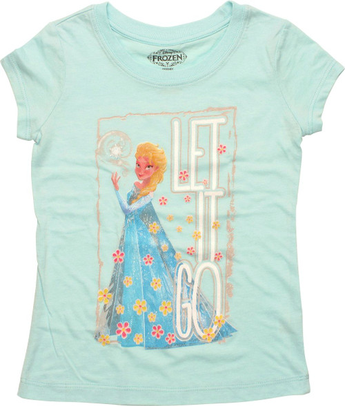 Frozen Elsa Let it Go Juvenile T Shirt