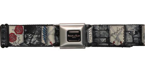 Attack on Titan Military Crests Seatbelt Mesh Belt