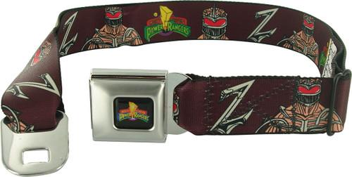 Power Rangers Lord Zedd Z Seatbelt Mesh Belt