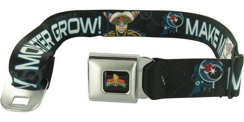 Power Rangers Rita Monster Grow Seatbelt Mesh Belt