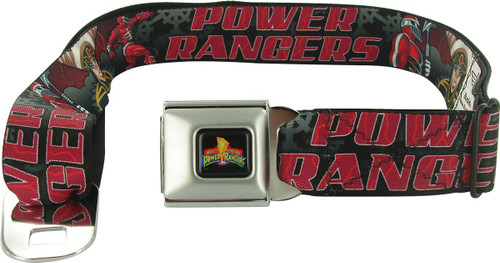 Power Rangers Zedd Rita Seatbelt Mesh Belt