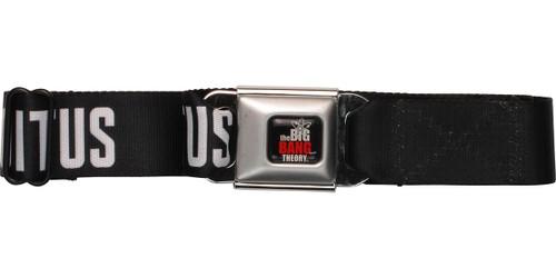 Big Bang Theory I Love Coitus Seatbelt Mesh Belt