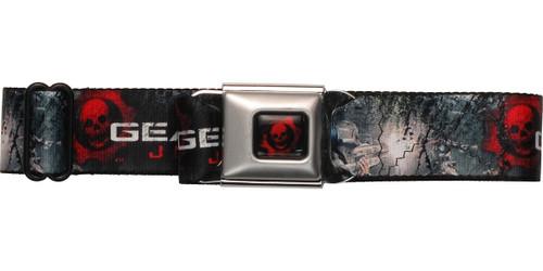 Gears of War Judgment Island Sniper Battle Scene Seatbelt Mesh Belt