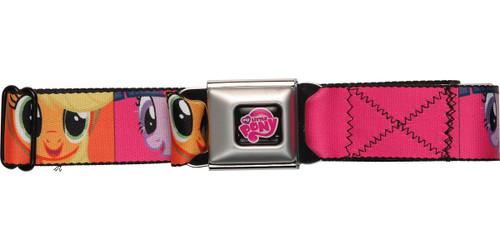My Little Pony Characters Squares Seatbelt Mesh Belt