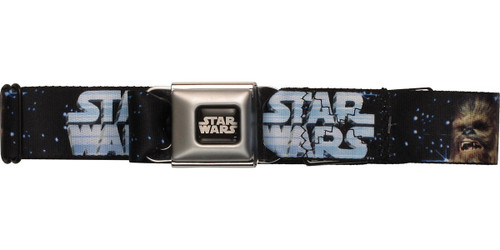 Star Wars Han Solo and Chewbacca Seatbelt Mesh Belt
