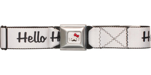 Hello Kitty Mustache Hello Kitty Seatbelt Mesh Belt