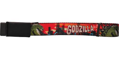 Godzilla Comic City Destruction Mesh Belt