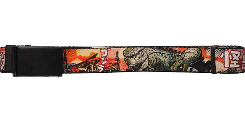 Godzilla Gojira Japan Mesh Belt