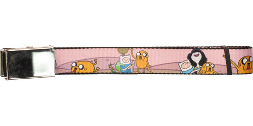 Adventure Time Characters Mesh Belt