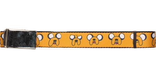 Adventure Time Jake Faces Mesh Belt