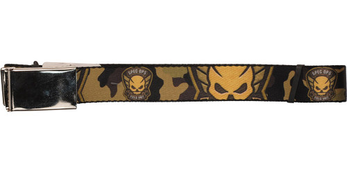 Resident Evil Special Ops Field Unit Logo Camo Mesh Belt