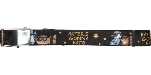 Regular Show Haters Gonna Hate Mesh Belt