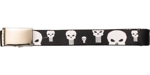 Punisher Logos Mesh Belt