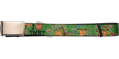 Ninja Turtles I Pizza Heart TMNT Mesh Belt
