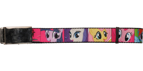 My Little Pony Characters Squares Mesh Belt