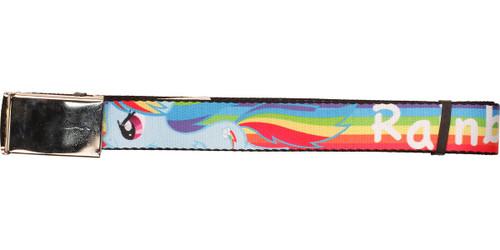 My Little Pony Rainbow Dash Rainbow Mesh Belt