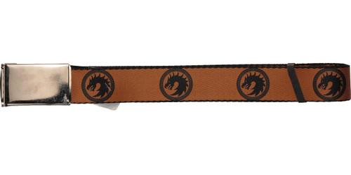 Ender's Game Dragon Army Logo Orange Mesh Belt