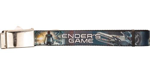 Ender's Game Teaser Movie Poster and Ship Mesh Belt