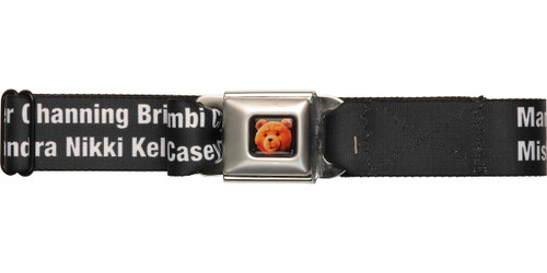Ted Name Guessing Seatbelt Belt