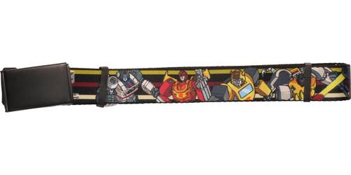 Transformers Autobot Characters Mesh Belt