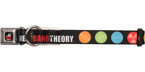 Big Bang Theory Science Symbols Pet Collar