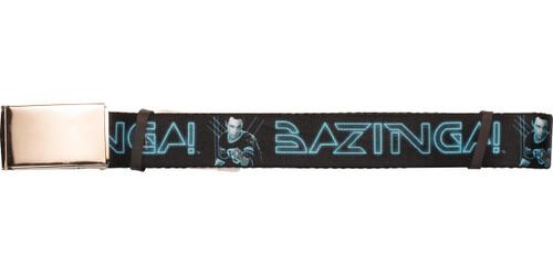 Big Bang Theory Sheldon TRON Bazinga Mesh Belt