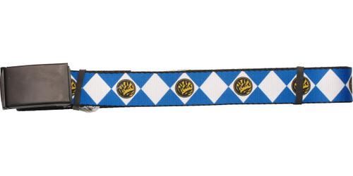 Power Rangers Blue Uniform Mesh Belt