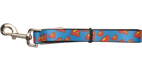Superman Tilted Logos Wrap Pet Leash