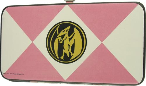 Power Rangers Pink Uniform Clutch Wallet