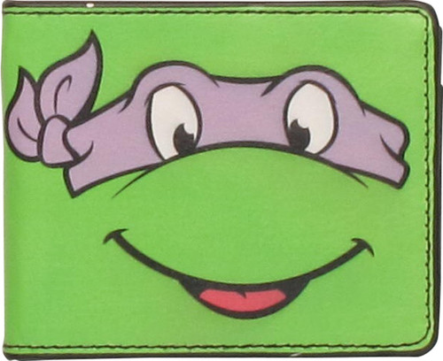 Ninja Turtles Donatello Face Wallet