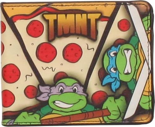 Ninja Turtles TMNT Pizza Wallet