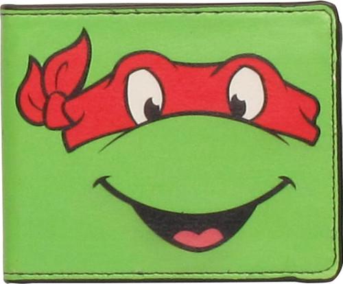 Ninja Turtles Raphael Face Wallet
